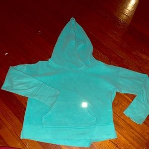 VS sport fleece hoodie with thumb holes